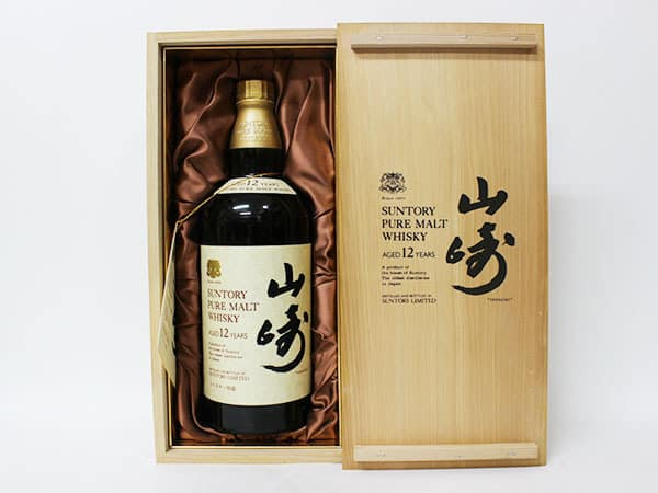 山崎 12年 ピュアモルト・ウイスキー